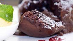 Как приготовить французский шоколадный фондан