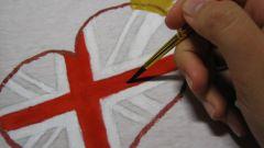 Как расписать футболку акриловыми красками