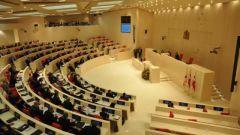 В какой стране двупалатный парламент