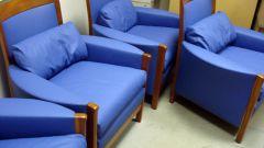 Как заменить поролон в мягкой мебели