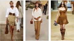Обувь и аксессуары в стиле кантри