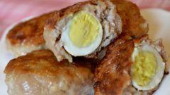 Как приготовить свиные котлеты с перепелиными яйцами