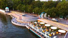 Где в Москве можно отдохнуть у воды