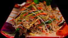 Рецепты салатов из китайской лапши