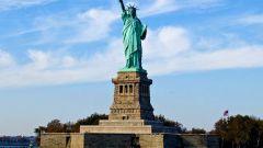 В каком городе находится статуя Свободы