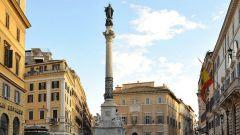 В каком городе стоит памятник непорочному зачатию