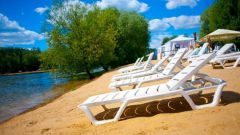 Where better to swim and sunbathe in Moscow