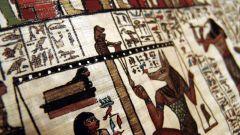 В чем состоит тайна египетских фресок