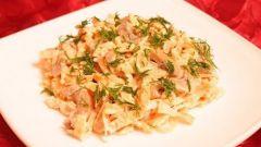 Как приготовить салат из языка с яичными блинчиками