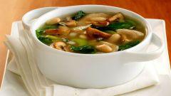 Как приготовить лапшичный суп с грибами