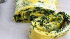 Как приготовить рулет из шпината с сыром