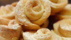 Как приготовить печенье «Розочки»