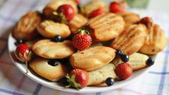 Как приготовить цитрусовое печенье «Мадлен»