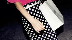 Greetings from the past: polka dot skirt