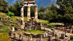 Прогулки по Греции: город Дельфы