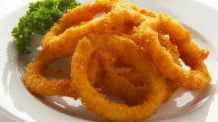 Кольца кальмара в пряной панировке