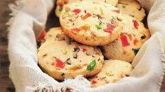Как приготовить печенье с цукатами и миндалем