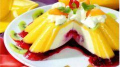 Торт «Ламбада» с фруктово-ягодным желе