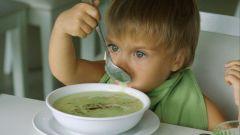 Как приготовить зеленый детский суп-пюре