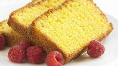 Как приготовить лимонный кекс из поленты