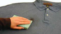 Удаление пятен с одежды