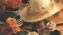 Как украсить соломенную шляпку