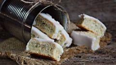 Как испечь маковое печенье с лимонной глазурью