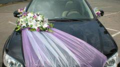 Советы молодоженам: Как украсить свадебный автомобиль?