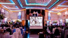 Для чего нужен проектор на свадьбе