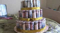How to make a cake out of money