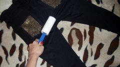 Как убрать шерсть животных с одежды
