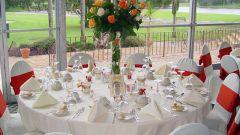 Как составить свадебное меню