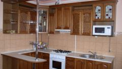 How to paint the facades of the kitchen