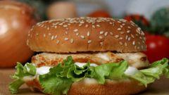 Как сделать гамбургер менее калорийным