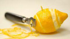 Применение лимона и его цедры в быту