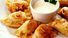Украинские вареники с картошкой и капустой