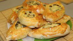 Как приготовить закуску «Лодочки из слоеного теста»