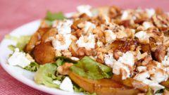 Рыбный салат со щавелем