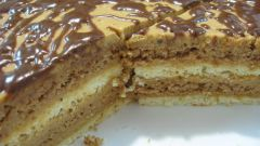 Рецепт торта с вареной сгущенкой