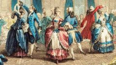 Как танцуют менуэт
