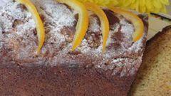 Арахисовый кекс с цукатами
