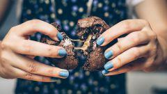 Как испечь двойное шоколадное печенье