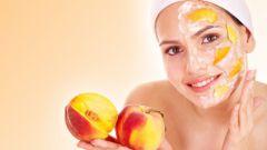 Персиковые питательные маски
