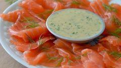 Блюда из лосося: домашний гравлакс