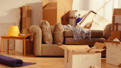 Как паковать вещи для переезда