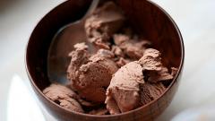 Хрустящее шоколадное мороженое