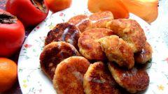 Как приготовить вкусные сырники с хурмой