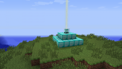 How to turn on a beacon in Minecraft
