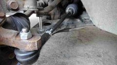 Как самому проверить рулевой наконечник