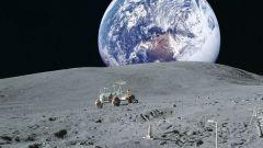 Как выглядит Земля с Луны